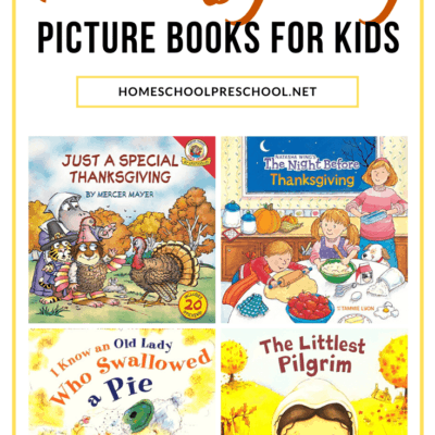 Thanksgiving Books for Preschoolers