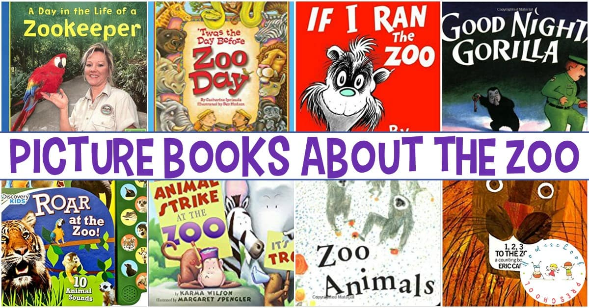 Let's read about the zoo! Grab one or more of these fun zoo books for preschool readers, and snuggle up with your favorite little monkey.