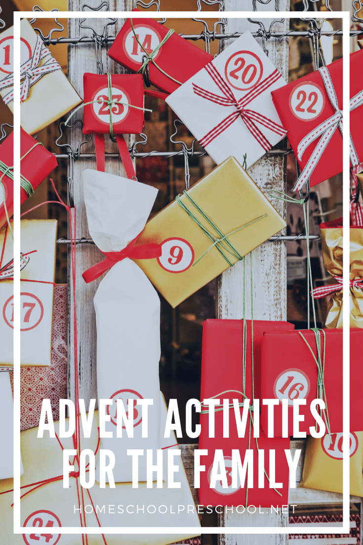 It's time to prepare for Christmas and the birth of our Saviour! The countdown to Christmas is ON with over 200 advent activities for families!