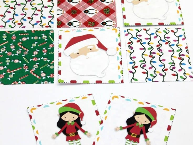 Are you looking for some fresh new Christmas activities for preschoolers? Download this free Christmas memory game for a quick and easy activity!