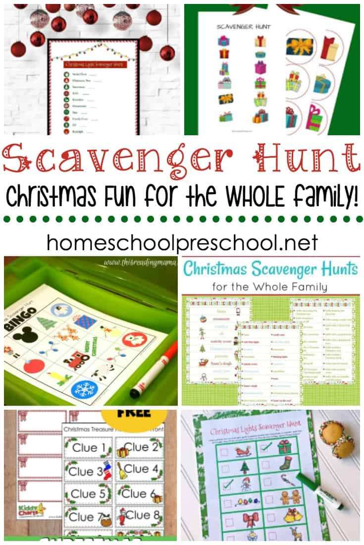 Start a new Christmas tradition this year. These Christmas scavenger hunt ideas are the perfect place to start! Indoor and outdoor ideas for the family.