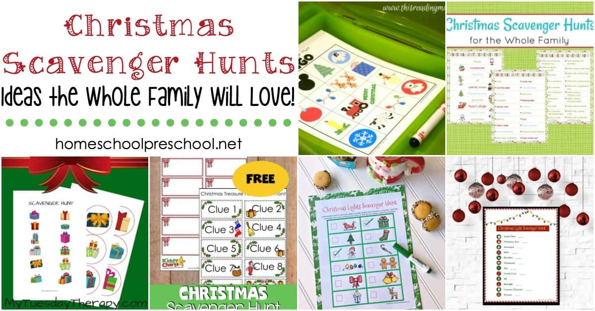 Christmas Scavenger Hunt Clues.Christmas Scavenger Hunt Ideas For The Whole Family