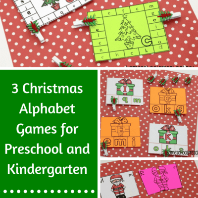 Christmas Alphabet Game Pack