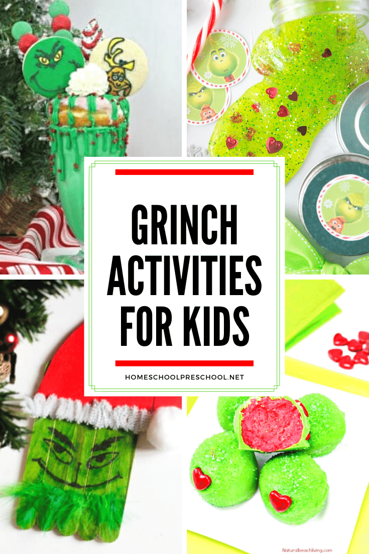 30 Great Grinch Activities For Kids Holiday Festivities