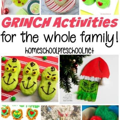 24 Great Grinch Activities for Kids