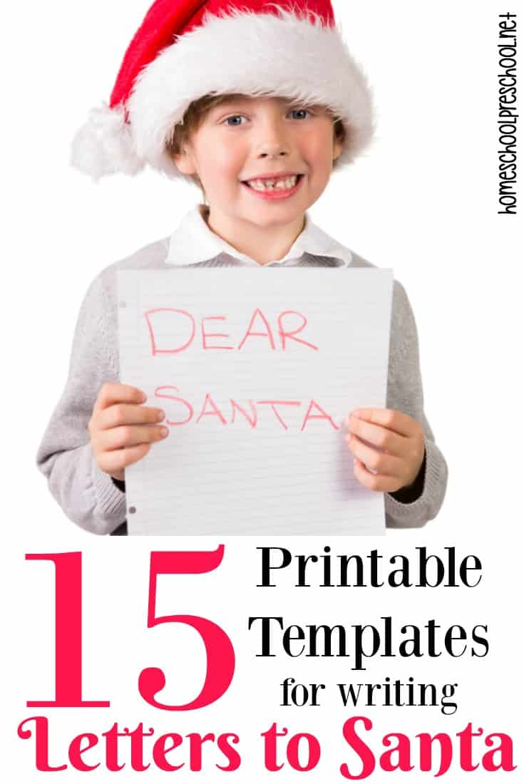 A simple letter to Santa template could be just what you need to get your reluctant writer to pick up a pencil! There are so many options to choose from!