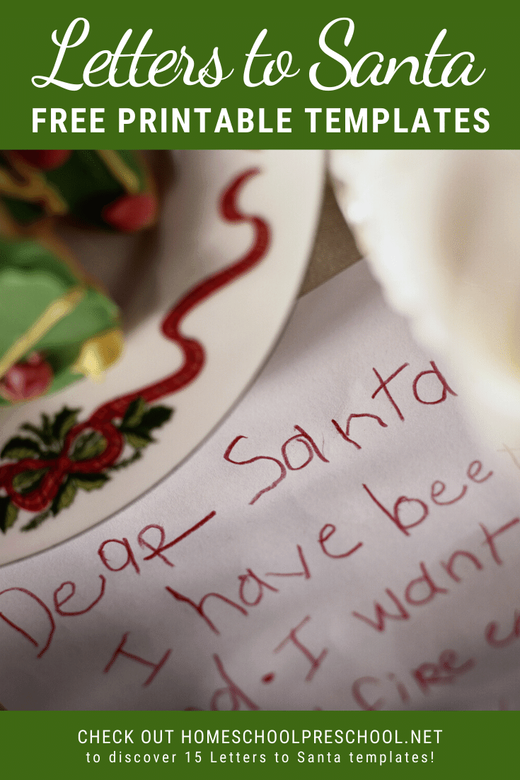 A simple letter to Santa template could be just what you need to get your reluctant writer to pick up a pencil! Check out these creative options!