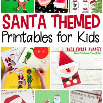 Santa Printables for Kids