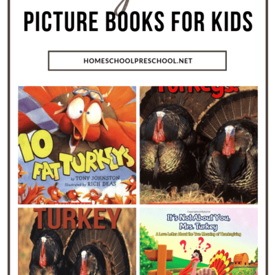 Turkey Books for Preschool