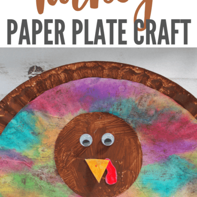 Thanksgiving Paper Plate Turkey Craft