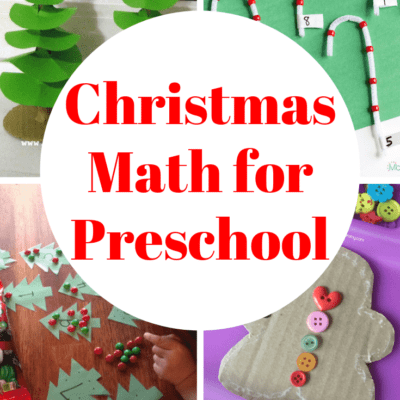 Christmas Math Activities for Preschoolers