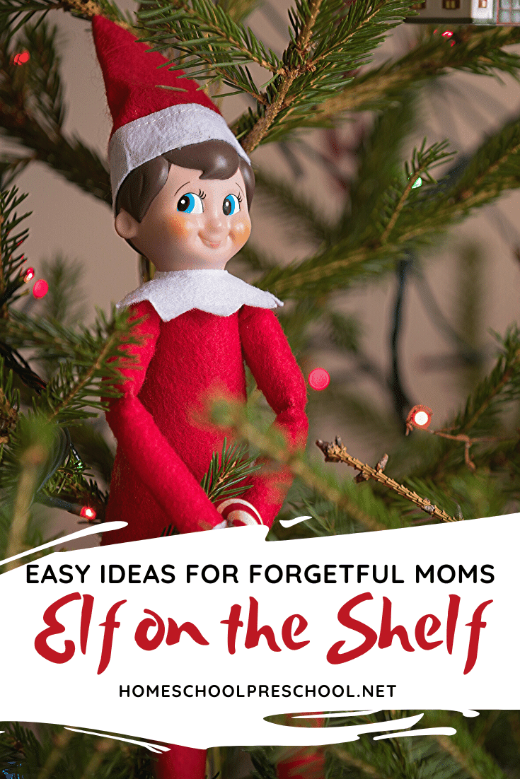 Don't miss this list of the best preschool Elf on the Shelf ideas! Your kids will be so excited to see their elf's activities throughout the month!