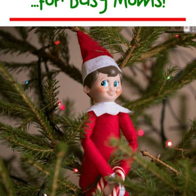 Easy Preschool Elf on the Shelf Ideas