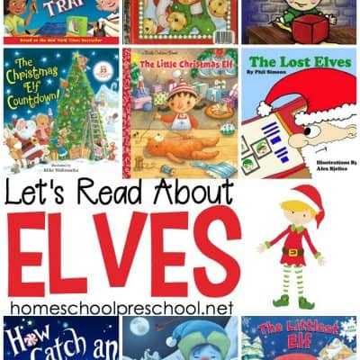 9 Elf Preschool Picture Books for Christmas