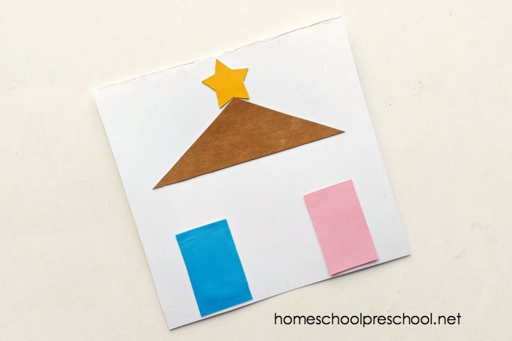 This Christmas, focus on the birth of Jesus. This simple preschool nativity craft will give you an opportunity to review the Christmas story with your little ones.