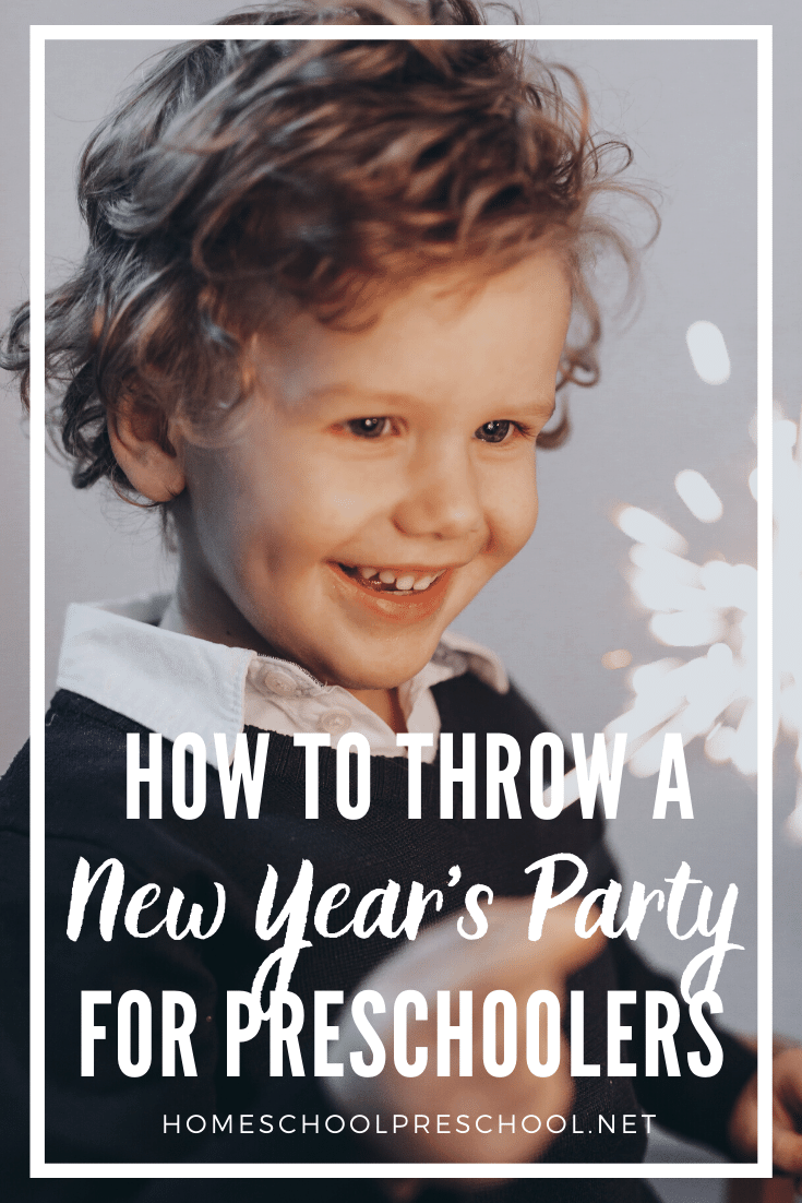 Don't leave your little ones out of your New Year's plans! Follow these tips to ring in the new year with a preschool New Years party!