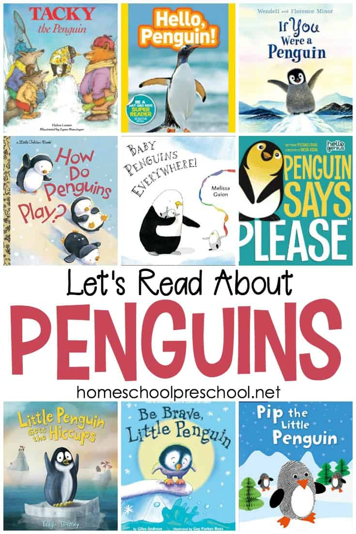 Penguins are my favorite animals. Most kids I know love them, too. Don't miss this collection of the best penguin books for preschoolers!