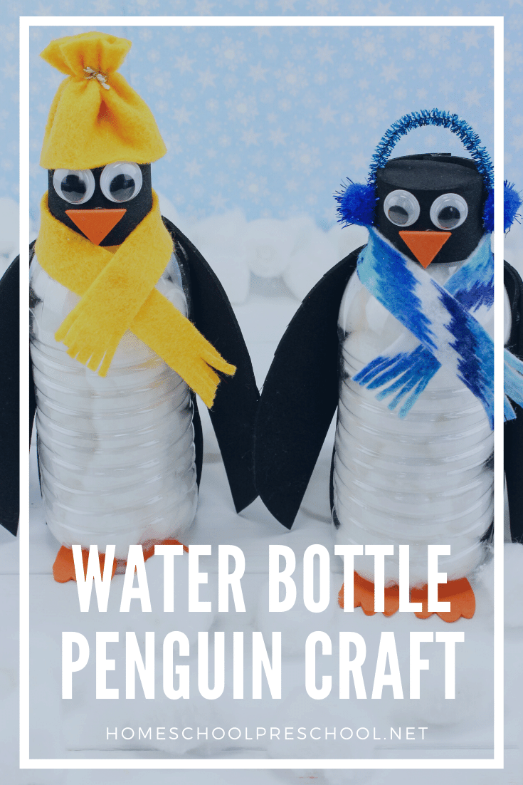 Preschoolers will love turning empty water bottles into penguins Follow this simple tutorial for a super easy (and oh so cute) water bottle penguin craft!