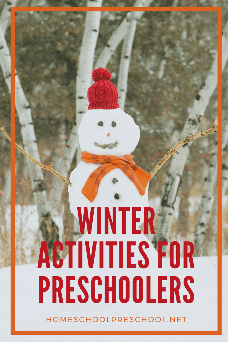 Come discover fine exciting and engaging winter activities for preschoolers! From baking to reading and more, combat winter boredom with these fun ideas.