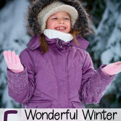Wonderful Winter Nature Activities for Preschoolers
