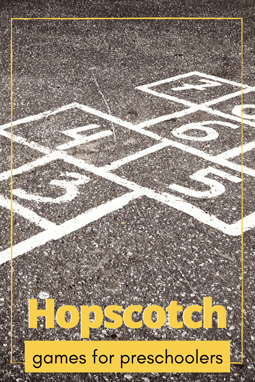 Turn hopscotch game for preschoolers into a fun teaching session with these five tips! Your kids will love learning this way!