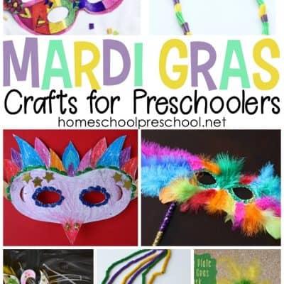 11 Festive Mardi Gras Crafts for Kids