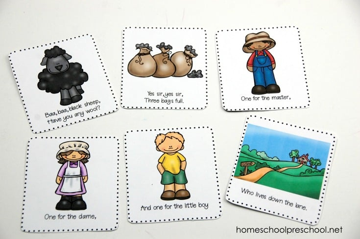 photograph regarding Printable Nursery Rhymes named Absolutely free Printable Nursery Rhyme Sequencing Playing cards and Posters