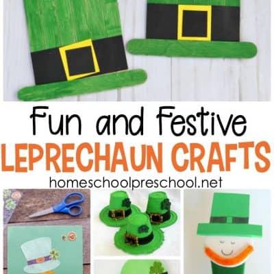 15 Simple Leprechaun Crafts for Kids