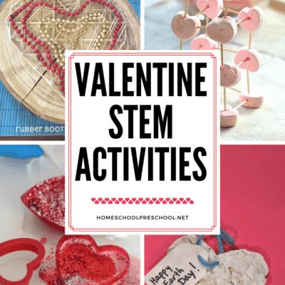 Valentine STEM Activities for Kids