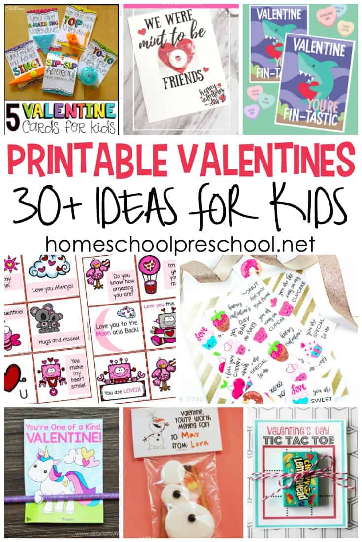 photograph about Printable Valentines Cards for Kids known as 30+ Cost-free Printable Valentine Card Strategies for Preschool