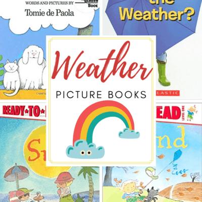 Best Weather Books for Preschoolers