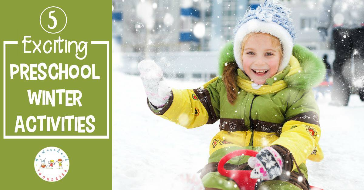 Come discover fine exciting and engaging preschool winter activities! From baking to reading and more, combat winter boredom with these fun ideas.