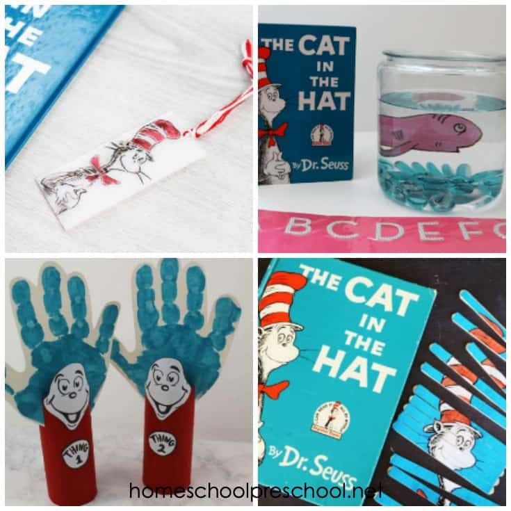 You and your preschoolers can celebrate Dr. Seuss's birthday on March 2 with this amazing collection of Cat in the Hat crafts and recipes!