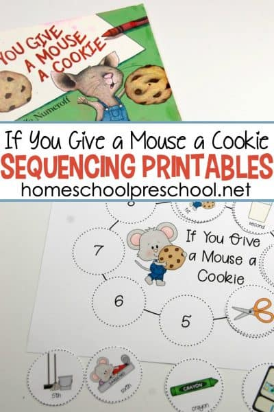 If You Give a Mouse a Cookie sequencing printables will help your students retell and sequence their favorite story! Four versions allow for differentiation.