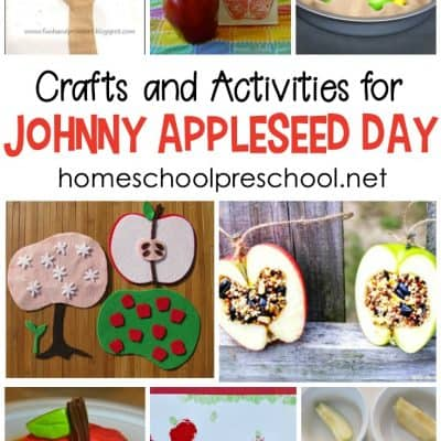 Hands-On Activities for Johnny Appleseed Day