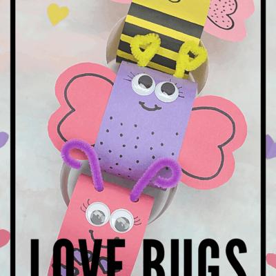 Love Bug Valentines Day Countdown