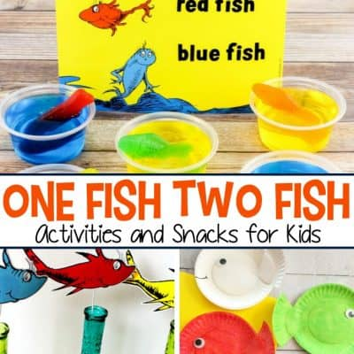 One Fish Two Fish Activities and Snacks