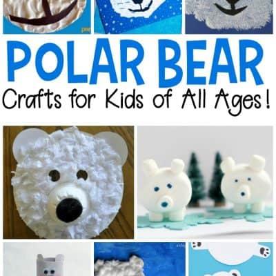 Polar Bear Crafts for Preschool