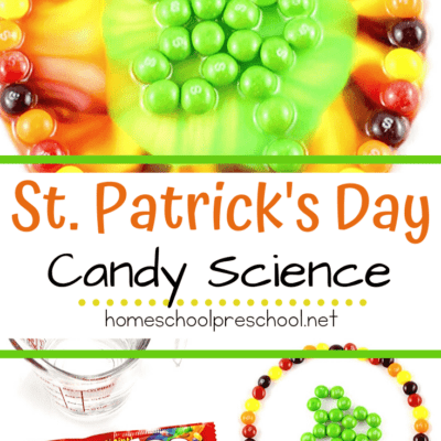 Skittles Science Project for St. Patrick's Day