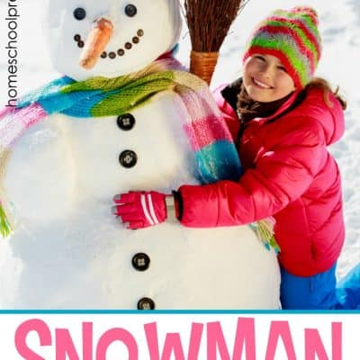 S Is for Snowman Preschool Activities
