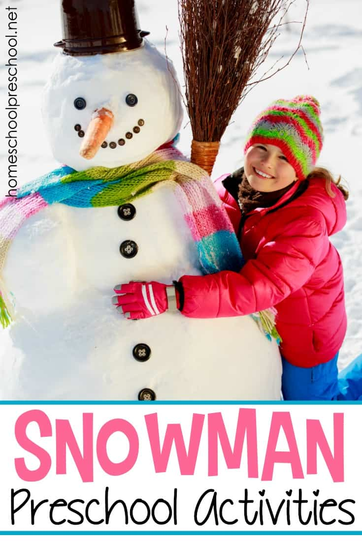 Snow in the forecast? There's no better time to study snowmen, and you can with these engaging snowman preschool activities!