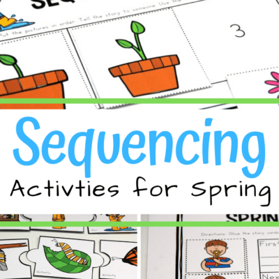 Spring Sequence Cards