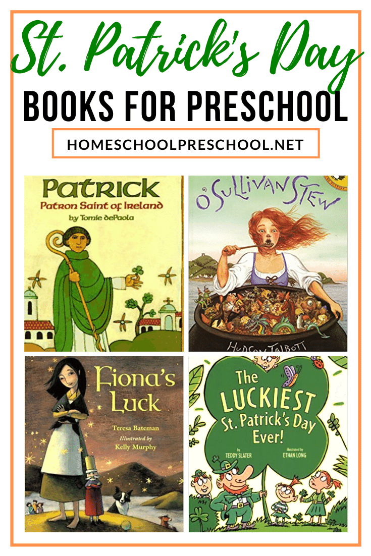 The luck of the Irish will be on your side with this amazing collection of St Patricks Day books for kids featuring legends, leprechauns, and lots of luck!
