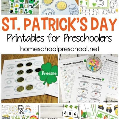St Patricks Day Printables for Preschoolers