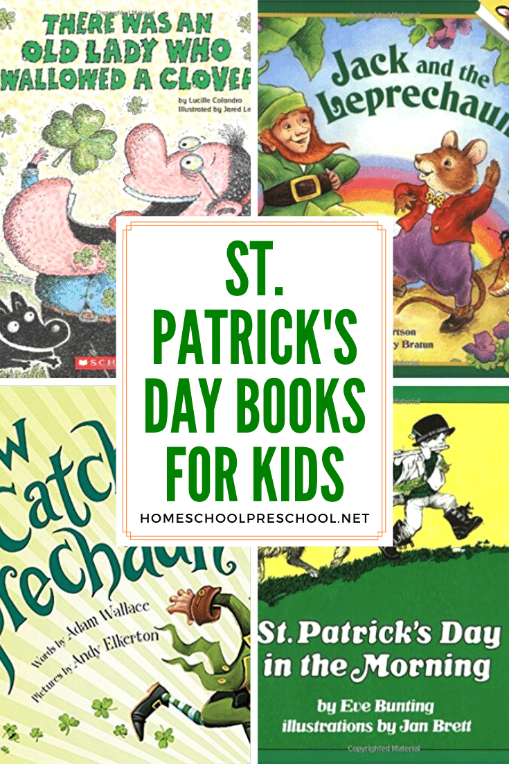 st.patricks day books