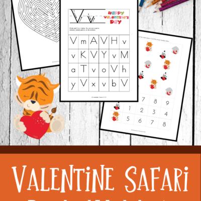Preschool Valentine's Day Worksheets