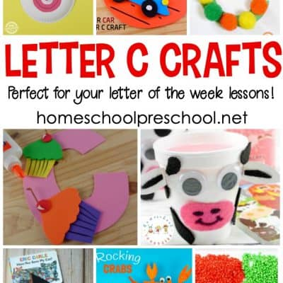 Letter of the Week: Crafts to Teach Letter C