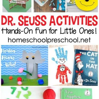 25 Dr Seuss Activities for Preschoolers