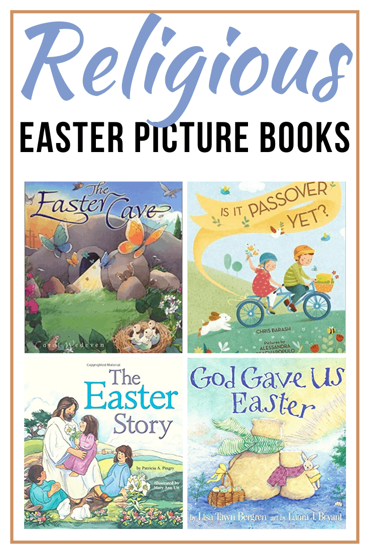 Fill your seasonal book baskets with this great collection of Christian Easter books for kids. They'll help your kids remember the true meaning of Easter!
