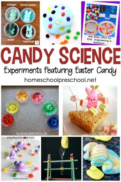 Easter Candy Science Experiments